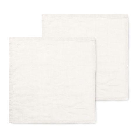 ferm LIVING Stoffserviette Linen Off-White 2er-Set