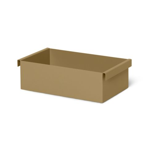 ferm LIVING Plant-Box Container Olive