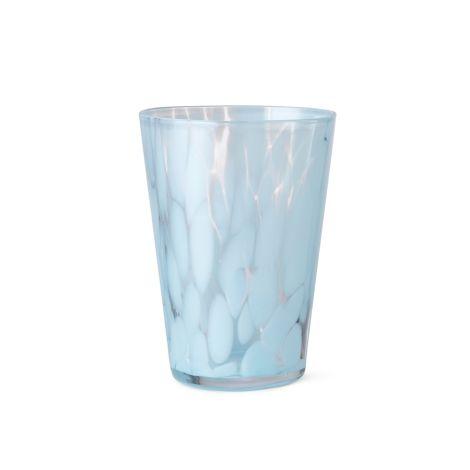 ferm LIVING Glas Casca Pale Blue