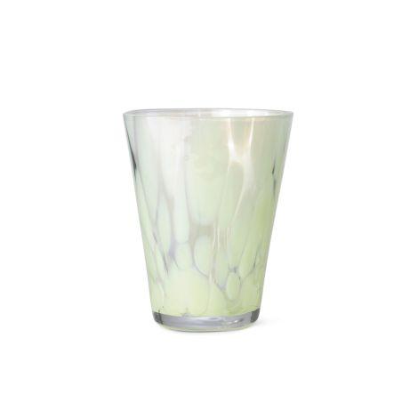 ferm LIVING Glas Casca Fog Green