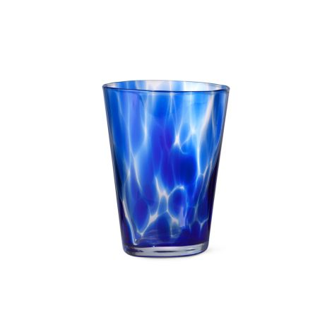 ferm LIVING Glas Casca Indigo