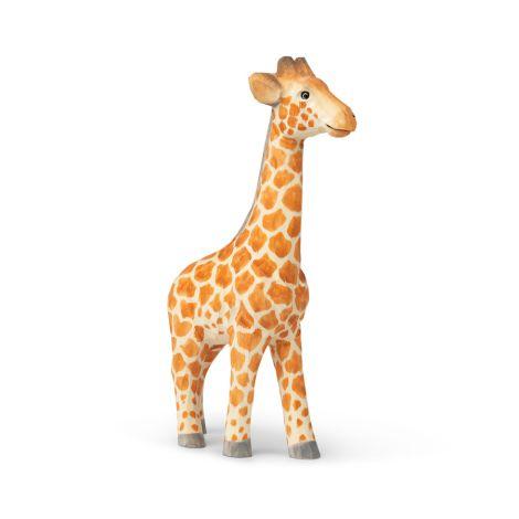 ferm LIVING Tierfigur handgeschnitzt Giraffe