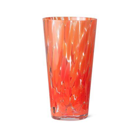 ferm LIVING Vase Casca Poppy red