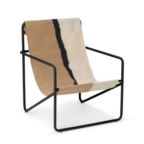 ferm LIVING Kinderstuhl Desert Chair Black/Soil