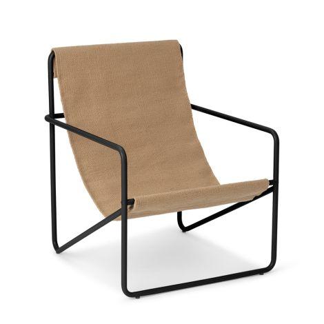 ferm LIVING Kinderstuhl Desert Chair Black/Solid