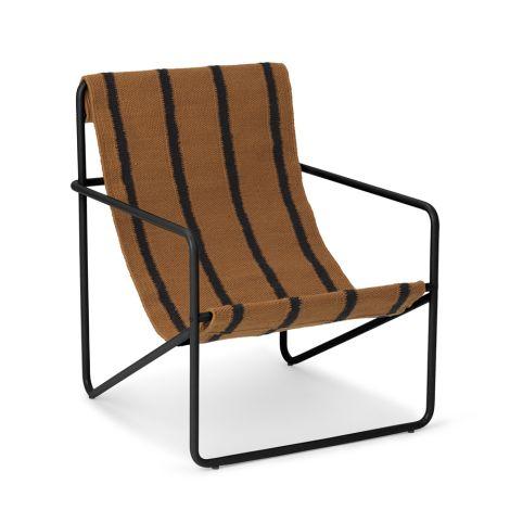 ferm LIVING Kinderstuhl Desert Chair Black/Stripe
