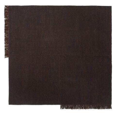 ferm LIVING Teppich Kelim Square Dark Melange 240 x 240