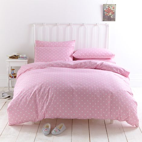 cath kidston bettw sche spot pink online kaufen emil paula. Black Bedroom Furniture Sets. Home Design Ideas