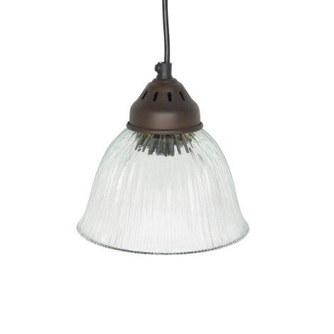 IB LAURSEN Lampe Glasschirm Schwarz