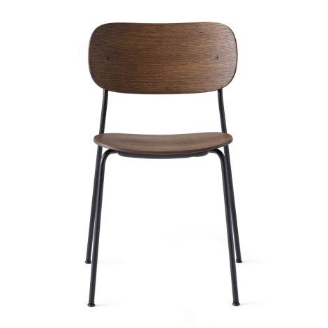 Menu Co Chair Stuhl Dark Stained Oak/Black Steel Base
