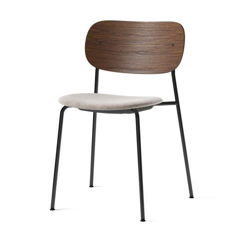 Menu Co Chair Stuhl Black Steel Base/Maple/Dark Stained Oak