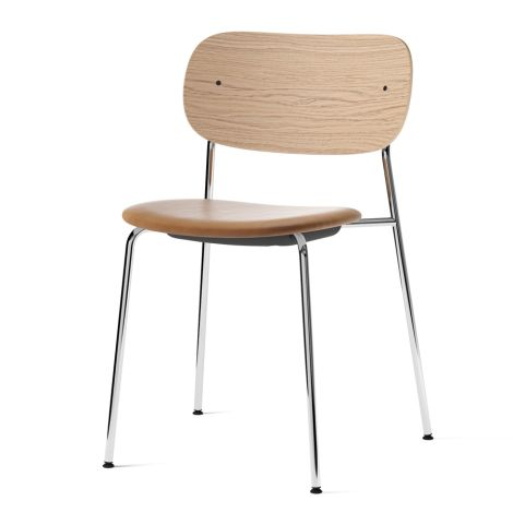 Menu Co Chair Stuhl Chrome/Natural Oak/Dakar