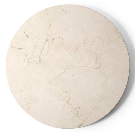 Menu Androgyne Tischplatte für Beistelltisch Ivory Marble