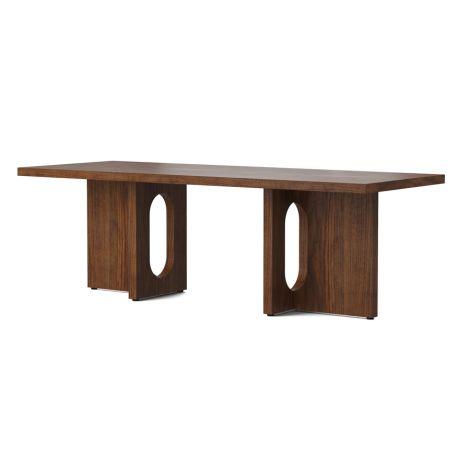Menu Androgyne Tisch Lounge Table 120x45 Walnut Gestell Walnut Tischplatte