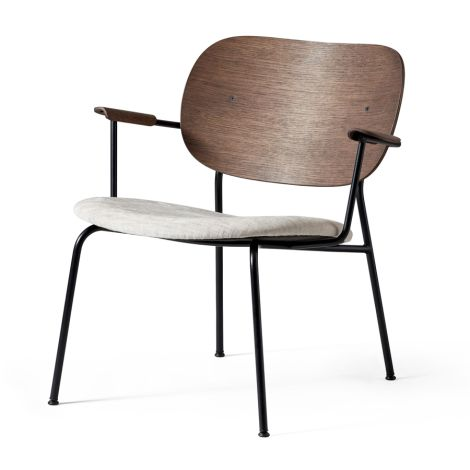 Menu Co Chair Stuhl Lounge Chair Black Base/Dark Stained Oak/Maple