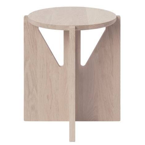 Kristina Dam Studio Hocker Solid Oak