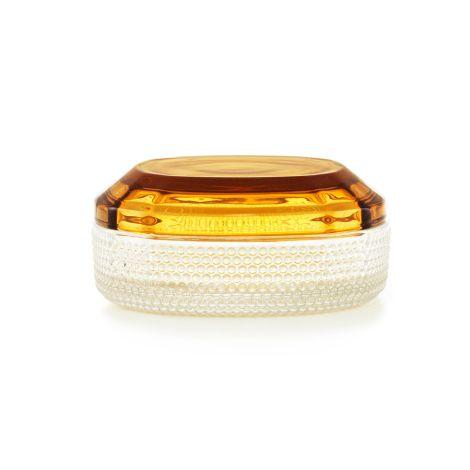 Normann Copenhagen Brilliant Aufbewahrungsdose Large Amber