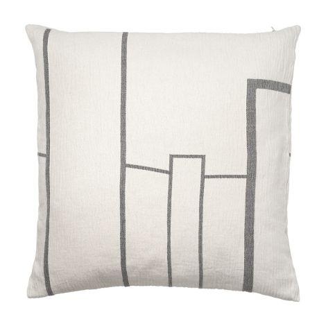 Kristina Dam Studio Architecture Kissenhülle Cotton Off-White 60 x 60