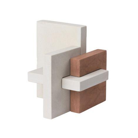 Kristina Dam Studio Block Sculpture Deko-Objekt
