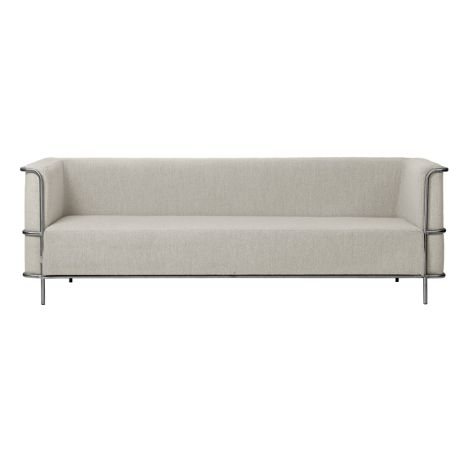 Kristina Dam Studio Modernist Sofa 3-Sitzer Beige Bouclé
