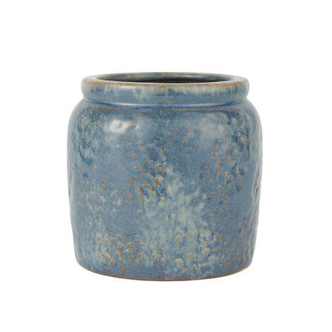IB LAURSEN Blumentopf Ocean Blue 12 cm