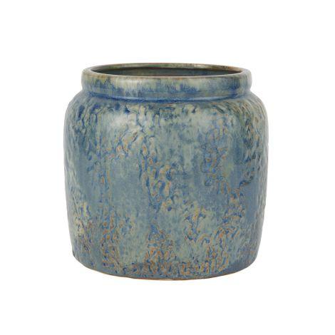 IB LAURSEN Blumentopf Ocean Blue 16 cm