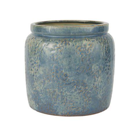 IB LAURSEN Blumentopf Ocean Blue 20,5 cm