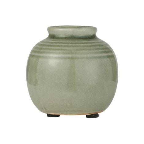 IB LAURSEN Vase Mini krakeliert Grün