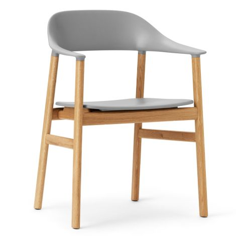 Normann Copenhagen Herit Lehnstuhl Oak Grey