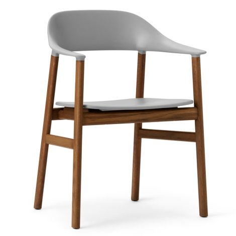 Normann Copenhagen Herit Lehnstuhl Smoked Oak Grey