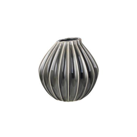 Broste Copenhagen Vase Wide Smoked Pearl M