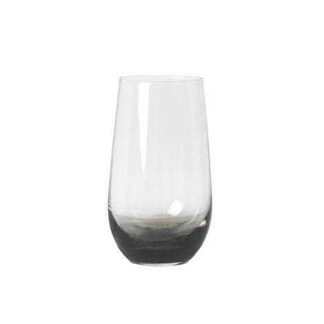Broste Copenhagen Trinkglas Smoke Grey 550 ml