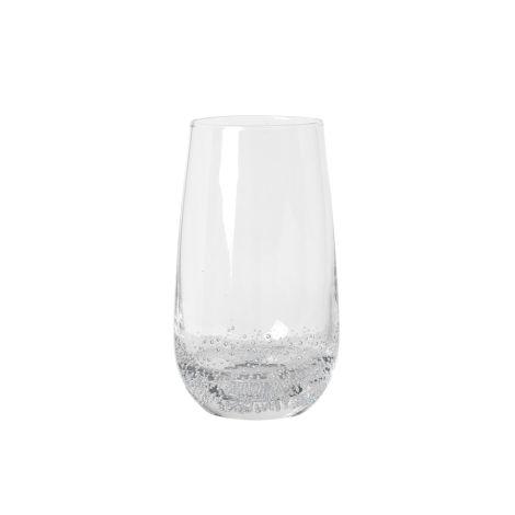 Broste Copenhagen Trinkglas Bubble Clear 550 ml