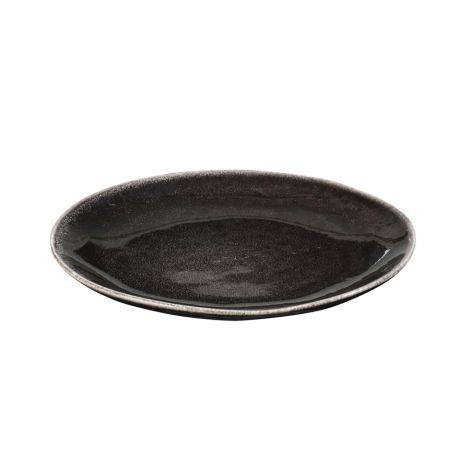 Broste Copenhagen Teller Nordic Coal 20 cm