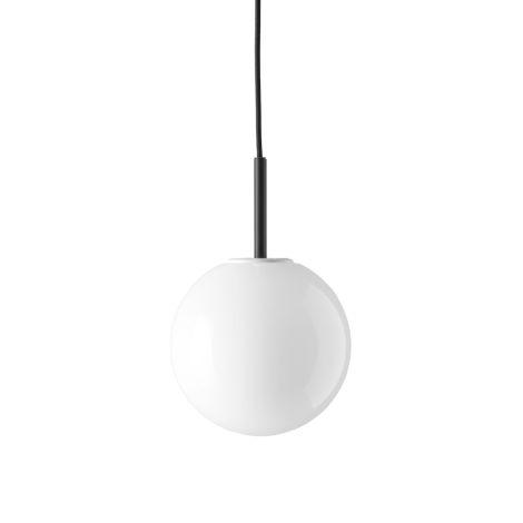 Menu TR BulbHängelampe Black mit glänzendem Opalglas