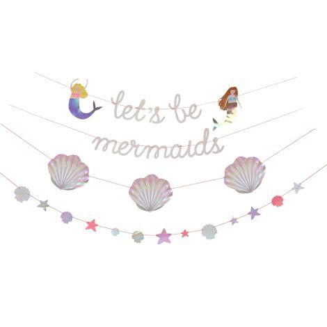 Meri Meri Girlande Lets be Mermaids