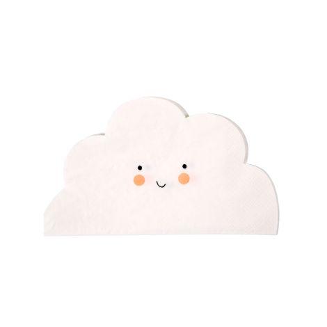 Meri Meri Papierserviette Cloud 20 Stk.
