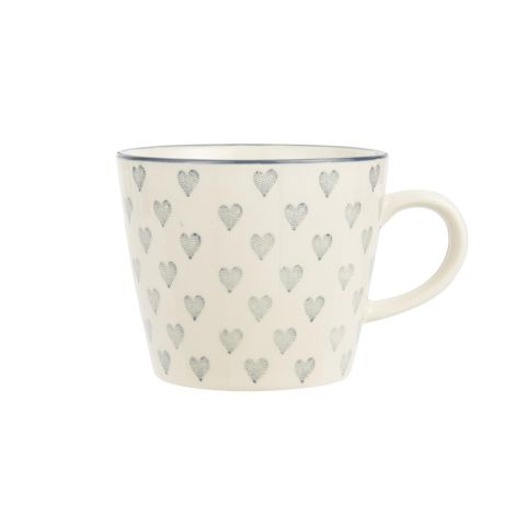 IB LAURSEN Tasse Grey Hearts