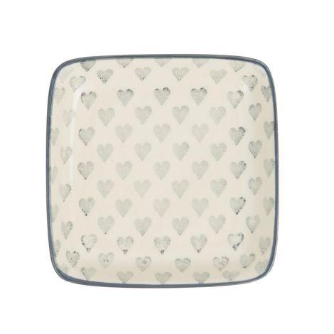IB LAURSEN Teller Mini Grey Hearts