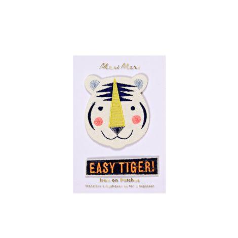 Meri Meri Aufnäher Easy Tiger 2er-Set