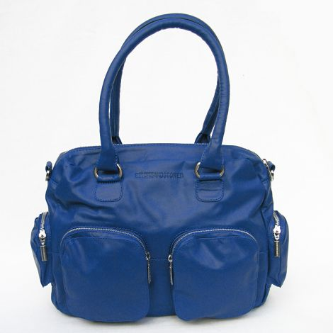 Sticks and Stones Ledertasche Vancouver Cobalt