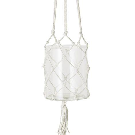bloomingville h ngender blumentopf light grey online kaufen emil paula. Black Bedroom Furniture Sets. Home Design Ideas