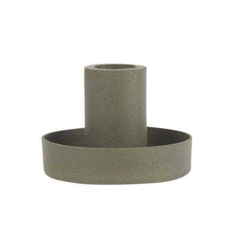 IB LAURSEN Kerzenhalter für schmale Kerzen Staubgrün 5 cm
