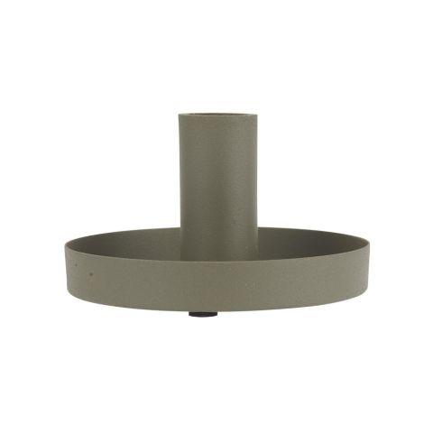 IB LAURSEN Kerzenhalter für Stabkerzen Staubgrün 20 cm