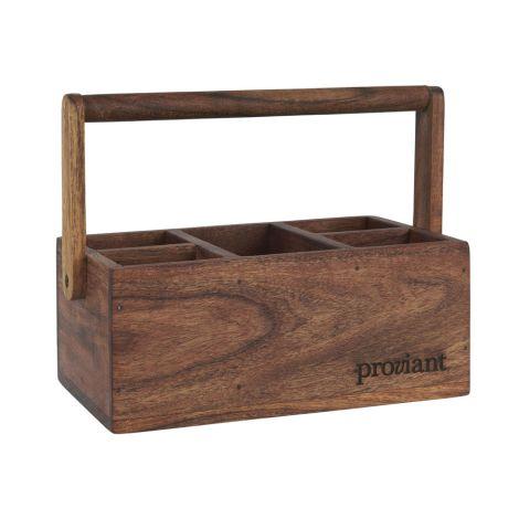 IB LAURSEN Kiste mit 5 Fächern Proviant