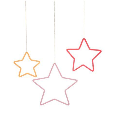Meri Meri Deko-Anhänger Sterne 3er-Set
