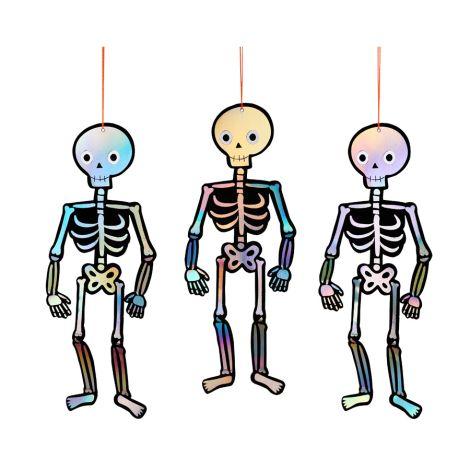 Meri Meri Anhänger Skelette 8 Stk.