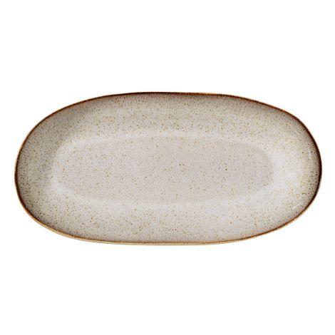 Bloomingville Großer Servierteller Sandrine Light Grey 34 cm