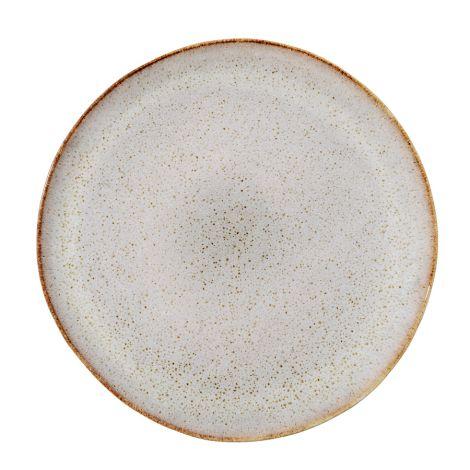 Bloomingville Porzellan Teller Sandrine Light Grey 28cm