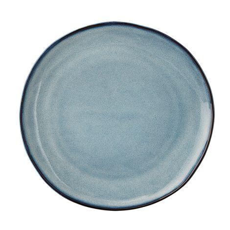 Bloomingville Porzellan Teller Sandrine Blue 22cm
